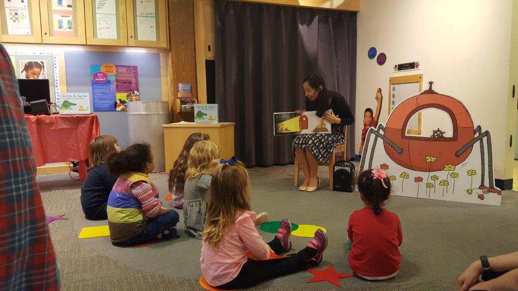 G&G Author Boston Children's Museum Visit 4
