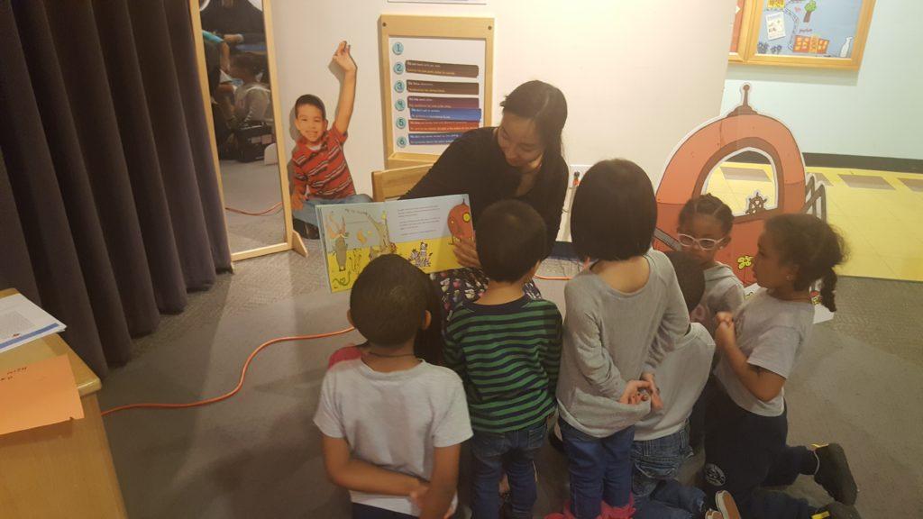 G&G Author Boston Children's Museum Visit 2