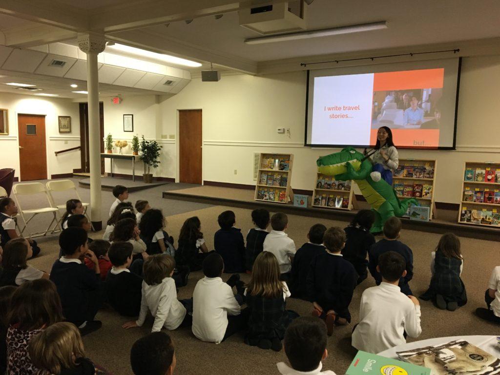G&G Author School Visit 2