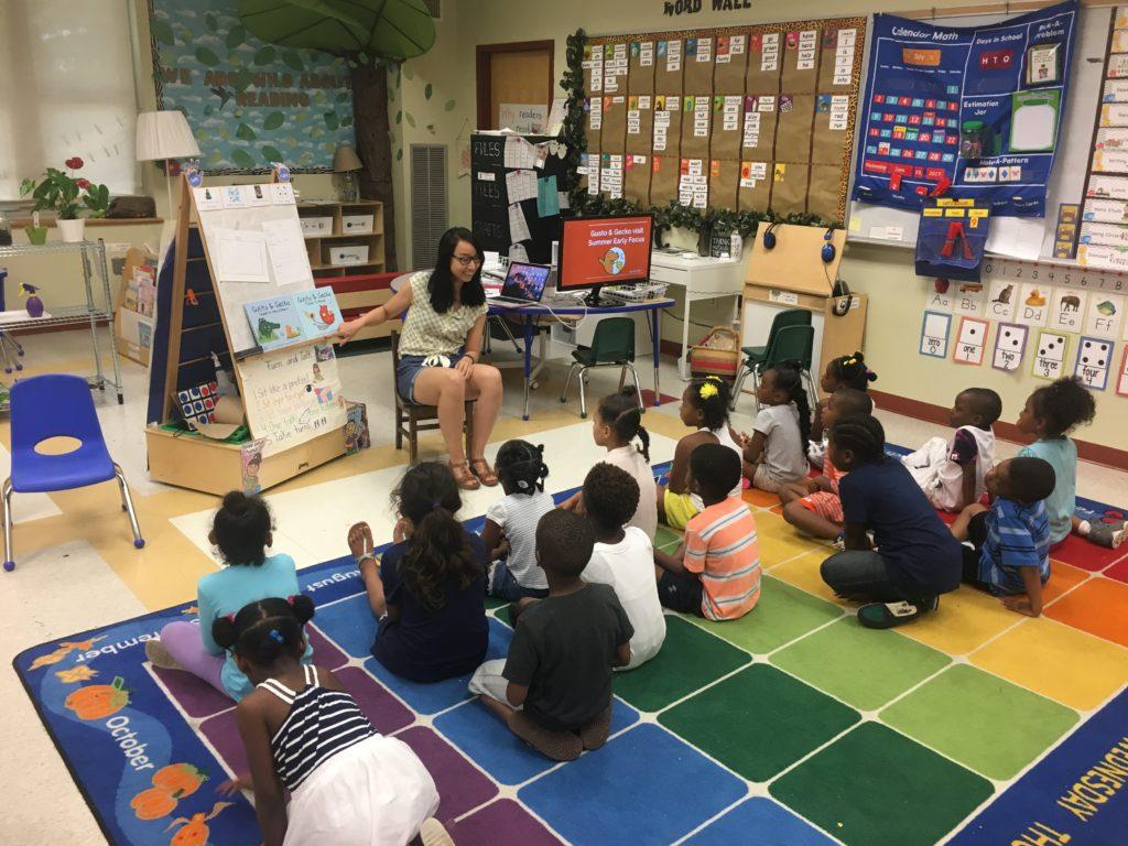 G&G Author School Visit 1